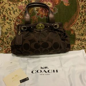COACH Dark Brown Purse